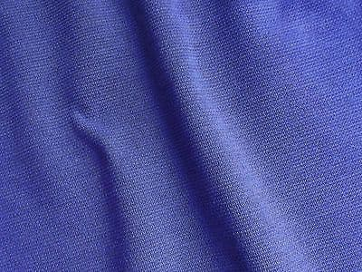 PURPLE fabric by the METRE  Vintage dress material Tubular knit wool blend